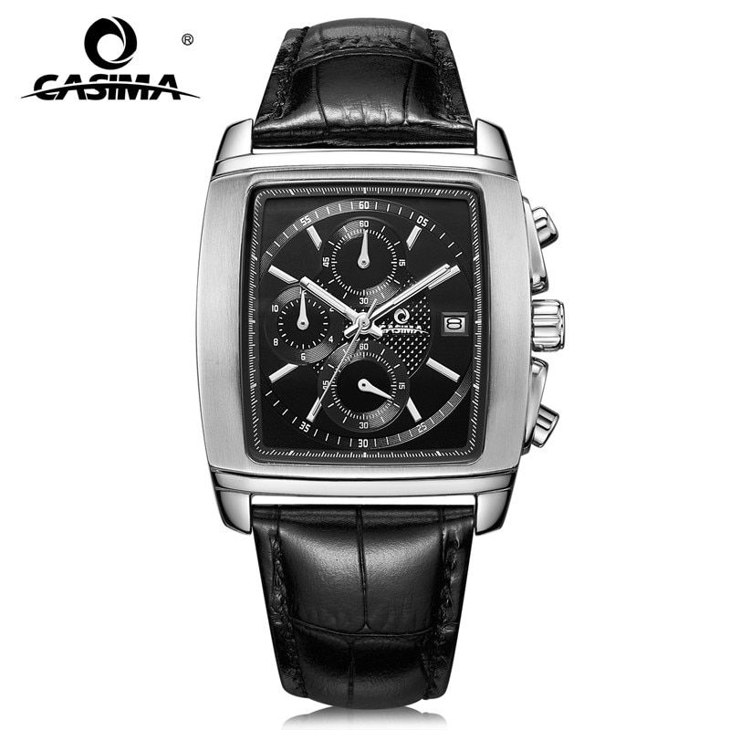Luxury brand watches men 2017 fashion leisure business dress men's quartz wrist watch waterproof relogio masculino CASIMA  #5115