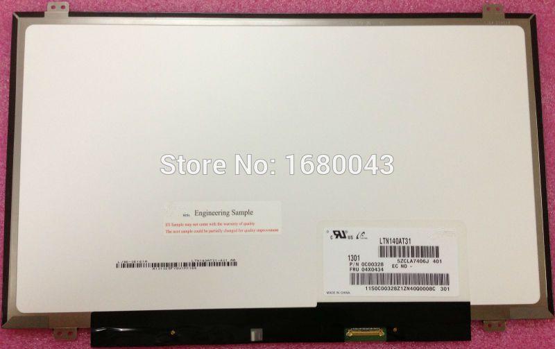 LTN140AT31 fit HB140WX1-301 401 501 601 B140XTN03.2 LP140WH2/WH8-TPS1 TPA1 TPD1 eDP 30 Pin LCD LED-Display