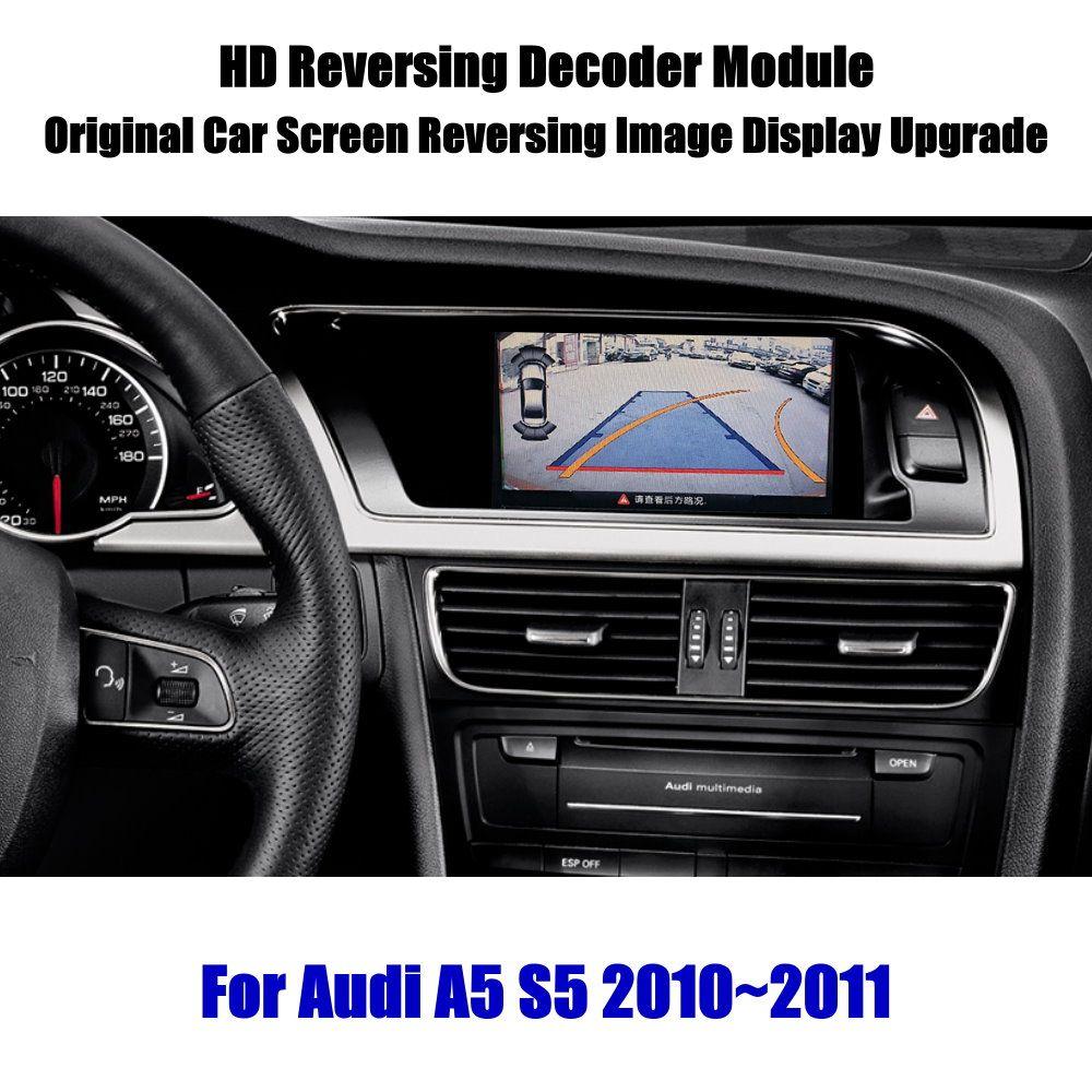 Liandlee Für Audi A5 S5 2010 ~ 2011 HD Decoder Box Player Hinten Reverse Parkplatz Kamera Bild Auto Bildschirm Upgrade display Update