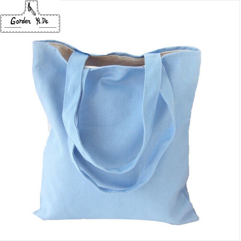 2018 Eco Provisions Réutilisable Sacs Tissu Tissu D'épicerie Emballage Recyclable Sac Hight Simple Conception Saine Fourre-Tout Sac À Main De Mode