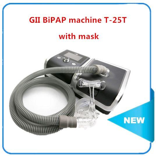 T-25T BMC GII BPAP Elektrische Atmen Maschine AUTO CPAP MASCHINE Blutdruck Oximeter Gesundheit Therpay Maske Erhitzt Luftbefeuchter