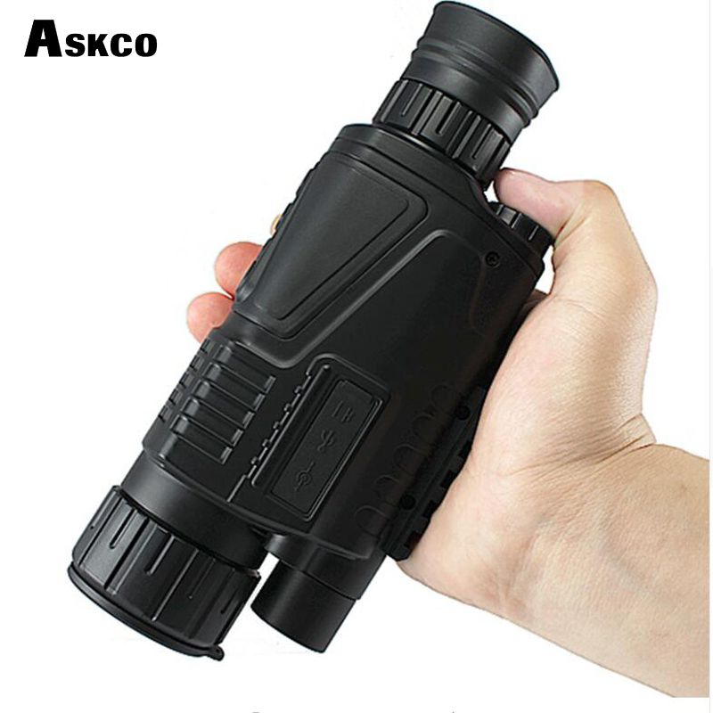 digital monocular infrared night vision goggles 5X40 night vision scope Takes Photos Video with TFT LCD for hunting hot selling
