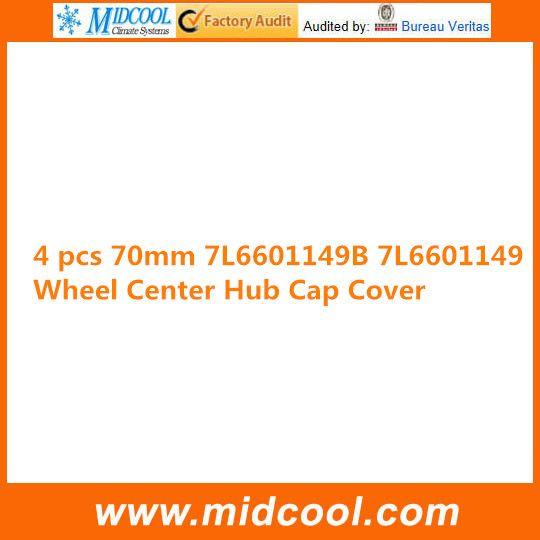 FREE SHIPPING 4 PCS WHEEL CENTRE CAP FOR  7L6601149B 7L6601149 70MM