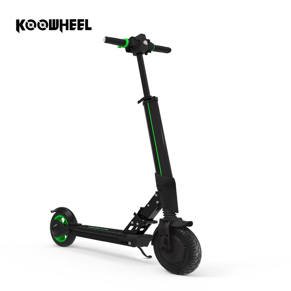 Koowheel Elektrische Roller mit APP Mini Stadt Skateboard Erwachsene Kick Elektrische Faltbare Roller Longboard Räder für Kinder Erwachsene