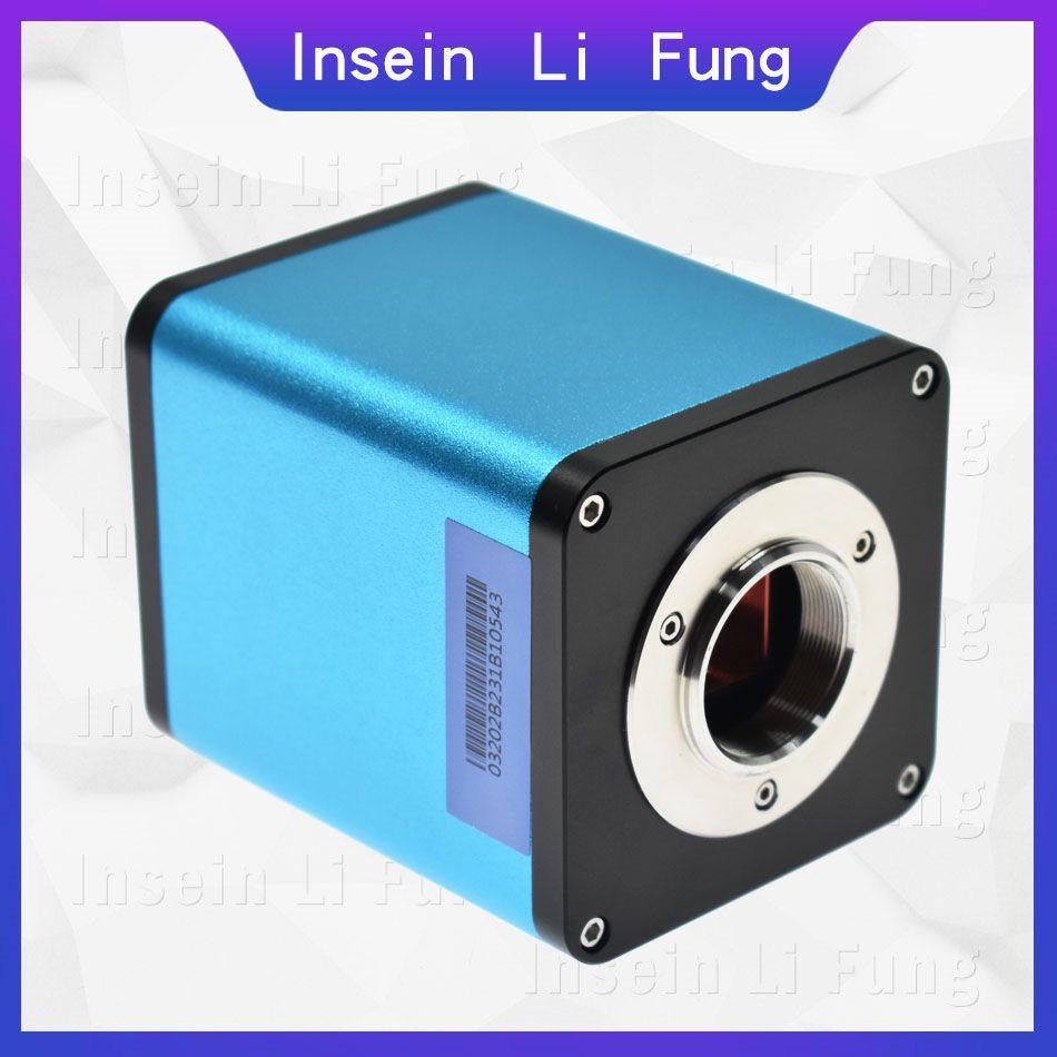 2019 volle HD 1080P 60FPS Industrie Autofokus SONY IMX290 Video Mikroskop Kamera U Disk Recorder CS C Halterung Für SMD PCB Löten