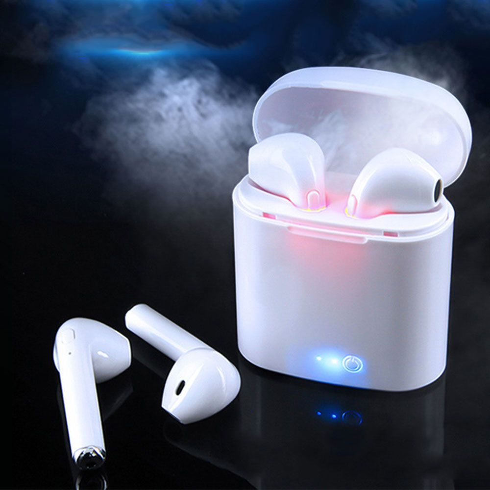 Wireless Headset Bluetooth Earpieces I7S Tws Ear bud Twins Earphone With Charging box Earphones Earbud For Samsung Smart Ear Aid