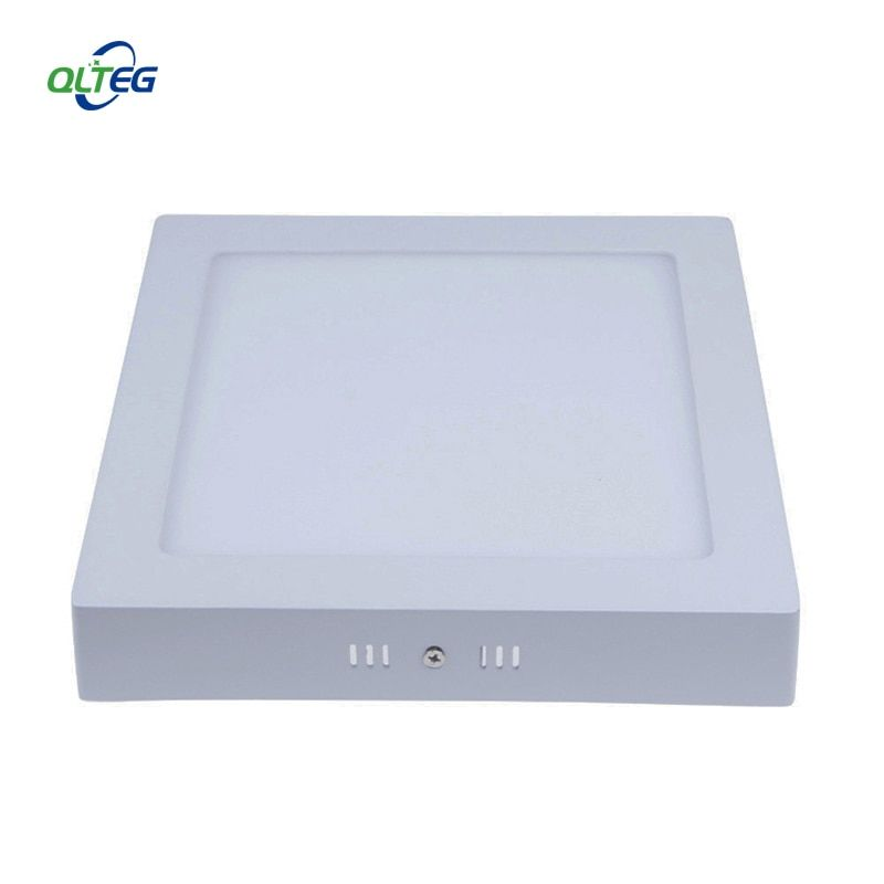 Non- dimmable 6W 12W 18W 24W Super Bright Square LED Ceiling Light Surface Mounted LED Panel down Lights for home illumination