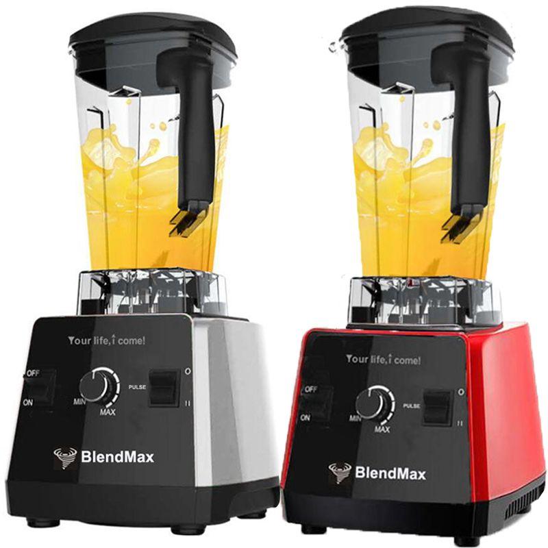 EU plug BPA Free 3HP 2200W Commercial Blender Mixer Juicer Power Food Processor Smoothie Bar Fruit Electric Blender