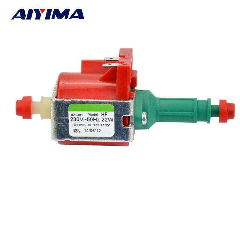 Aiyima 1 шт. AC220V электромагнитных насосы водяного насоса 22 Вт для пароочиститель бытовая техника ulka HF оригинальные импортные