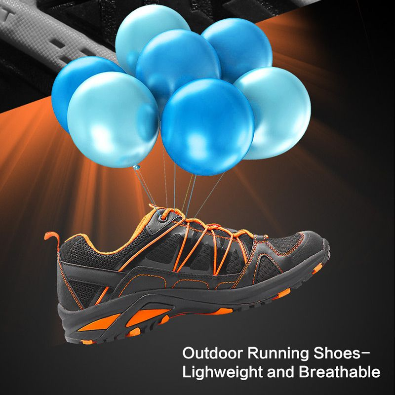 Shipped From RU/CN Men Running Shoes Clorts Light Sport Athletic Shoes PU Mesh Runner Shoes Outdoor Trail Shoes 3F015
