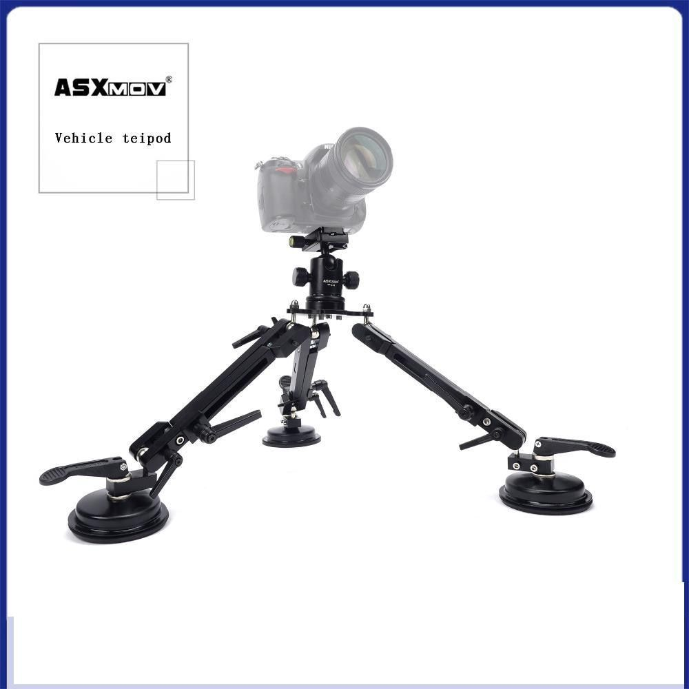 ASXMOV-XP2 Car Sucker Mount filming Stabilizer Car suction Cup Mini Photo Tripod For Digital dslr camera/Video camera/Camcorder