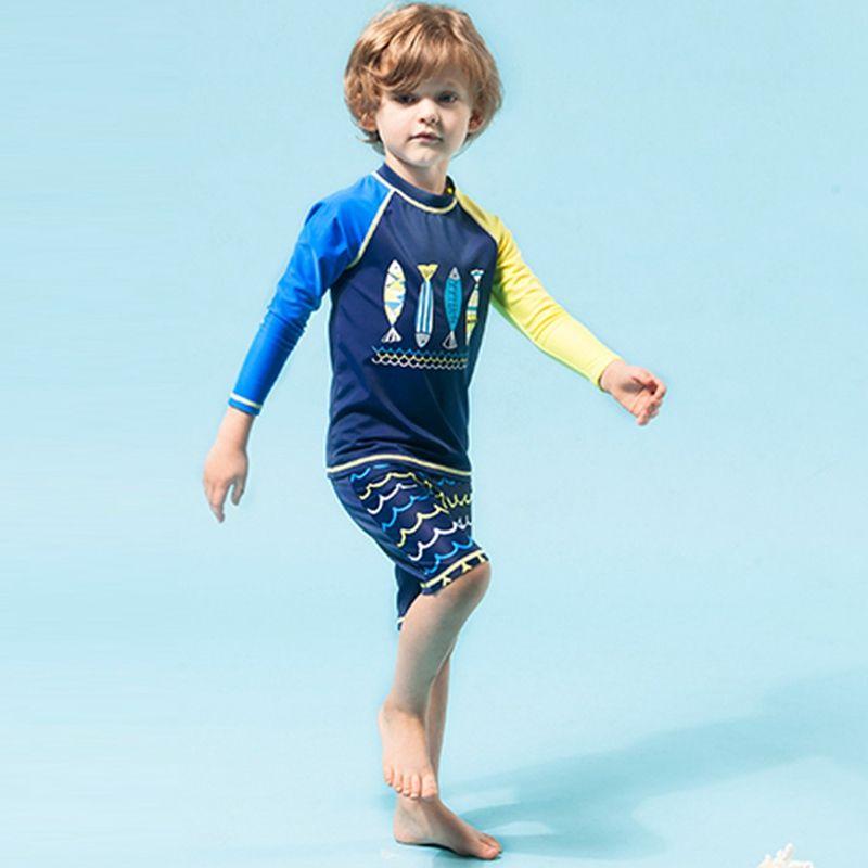 4-15 jahre Kinder Badeanzüge Jungen Pool Strand Zwei Stücke Badehose Kleidung Set Kleinkind Bademode Badeanzug Rash wachen