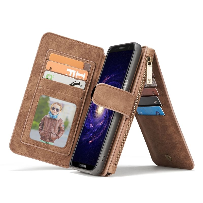 Leather Case for Samsng Galaxy S7 S8 S9 Wallet Coque Flip Case for Samsung Galaxy S8 Plus S7 edge Case S7edge Cover S9Plus Case