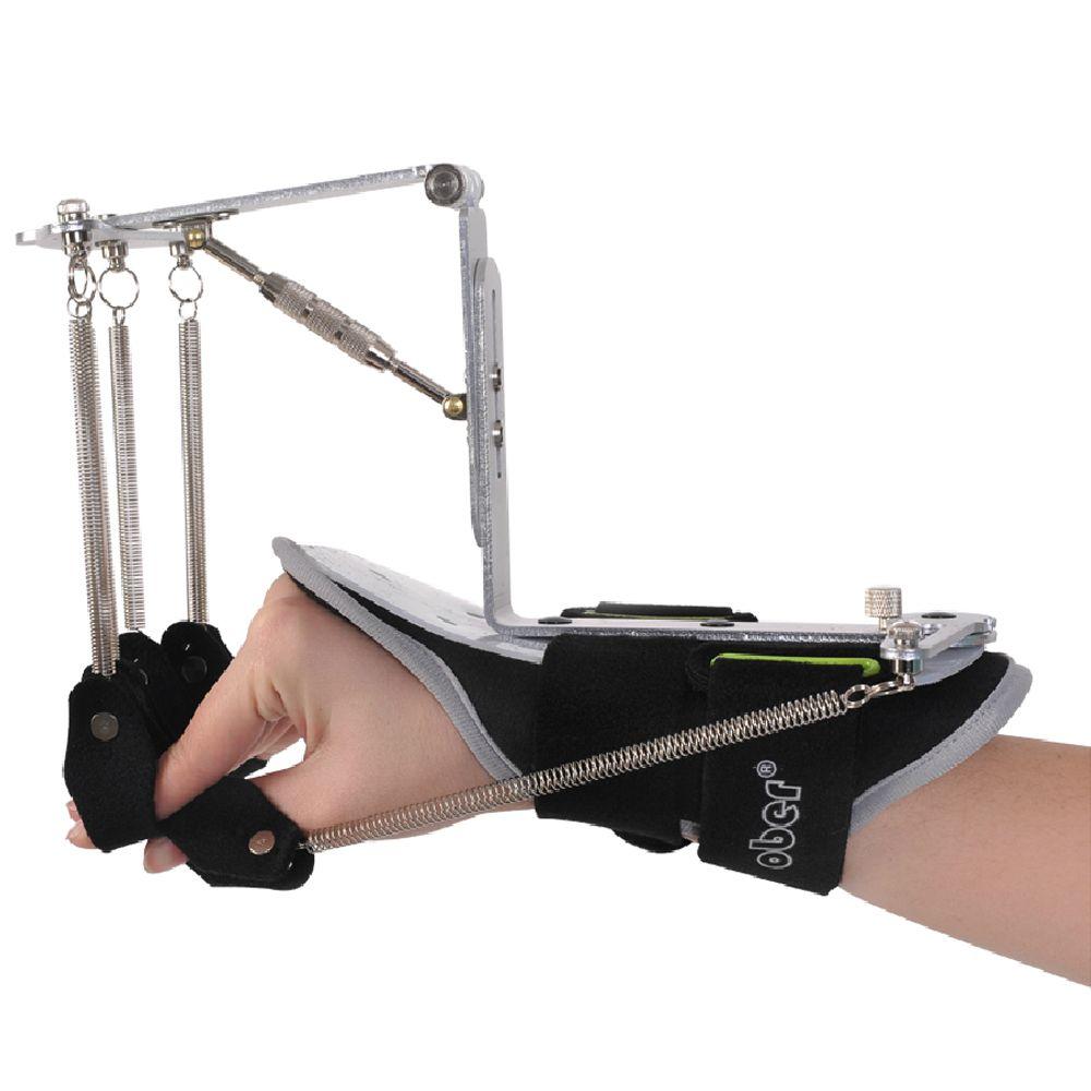 Обновленная версия Регулируемая палец наручные ортопедии тренажер реабилитации устройство для инфаркт мозга тромбоз ход