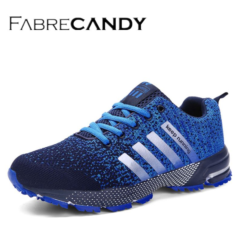 FABRECANDY 2018 Hot Sales Fashion Light Breathable cheap Lace-up Men Shoes man Casual Shoes Male sneakers Plus large Size 35-47