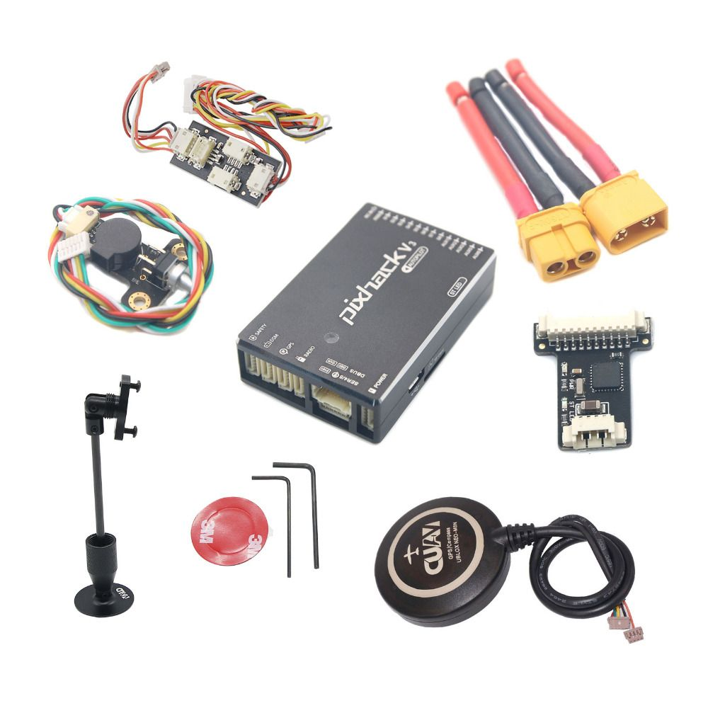 New CUAV Pixhack V3C Flight Controller PIX Open Source + M8N GPS for FPV Drone Quadcopter Helicopter