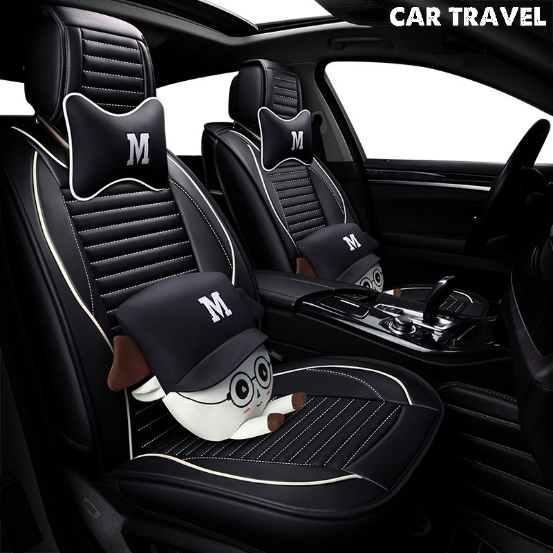 pu Leather car seat cover For hyundai ix25 ix35 opel zafira b chevrolet spark vw golf 5 6 7 auto accessories car-styling