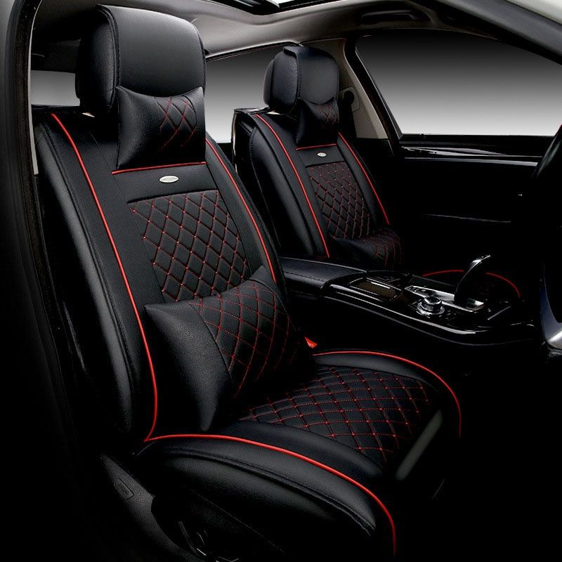 luxury Leather car seat cushion for nissan almera juke note qashqai Car Seat Covers Interior Accessories Automobiles Seat Covers