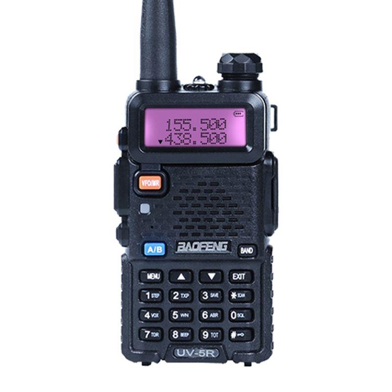 Baofeng UV-5R Portable uv5r Walkie Talkie Two Way Radios128CH Dual Band VHF/UHF 136-174/400-520MHz Transceiver Ham Radio