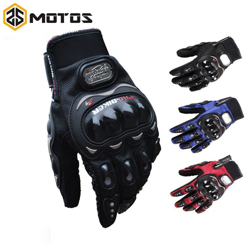 ZS moto S Pro biker moto gants de cyclisme complet doigt chevalier équitation moto rcross sport gant cyclisme lavable gant guantes