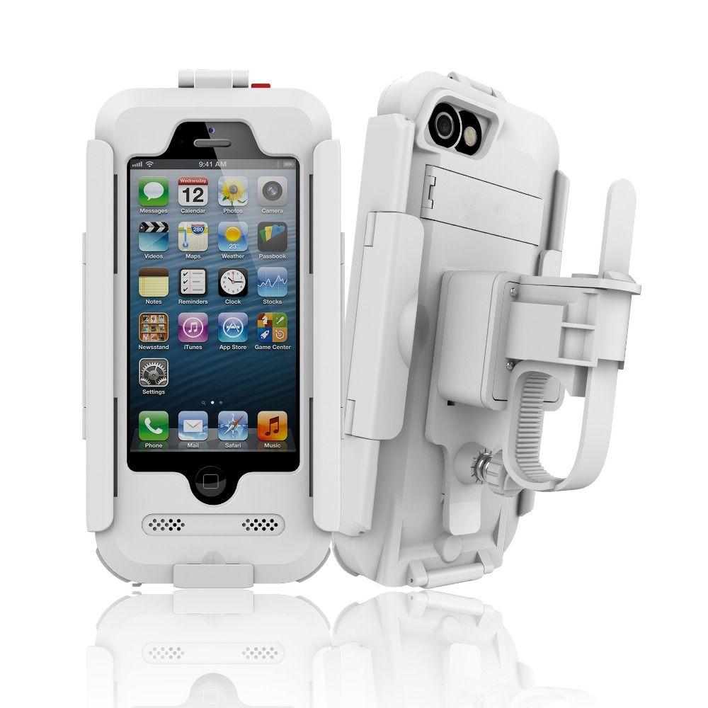 Support de téléphone pour Moto étanche Support de téléphone Support pour iphone 8 7 5s 6s vélo GPS Support téléphone sac Support téléphone Moto