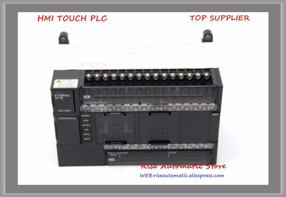 New original 24 DI 16 DO Relay PLC Programmable Logic controller CP1E-N40DR-A 100-240V