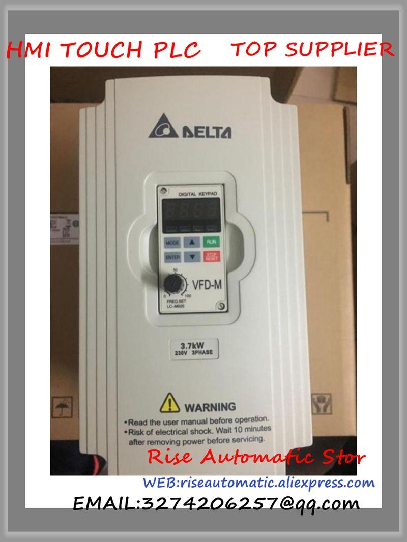 VFD037M23A Delta VFD-M Inverter AC motor drive 3 phase 220 v 3.7Kw 5HP 17A 400 hz neue