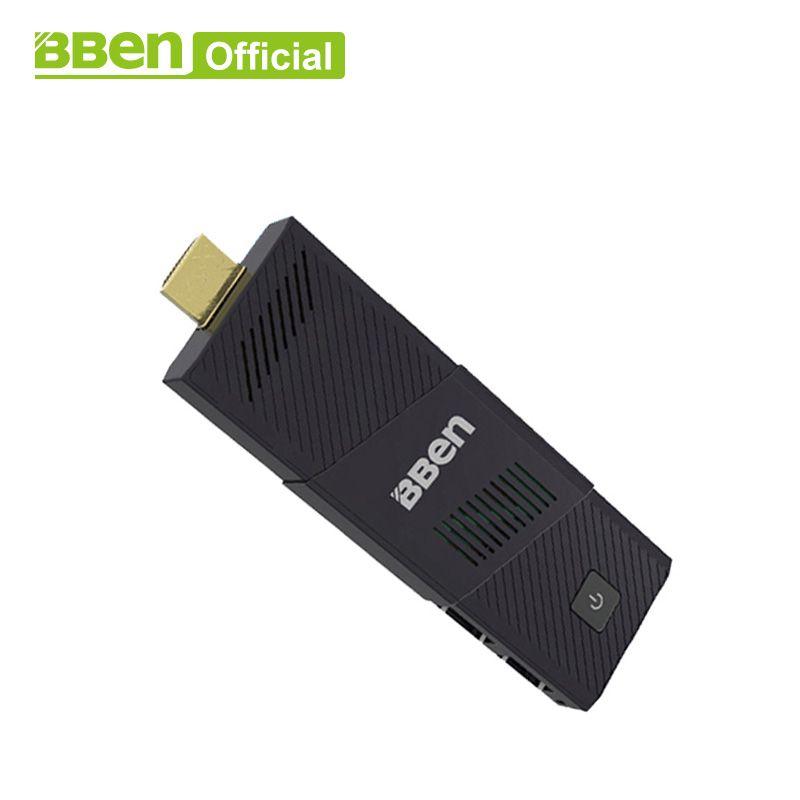 Bben MN9 fan intel mini pc windows10, 4 gb RAM + 64 gb emmc mini Computer pc stick media player USB3.0 wifi mit US/EU stecker