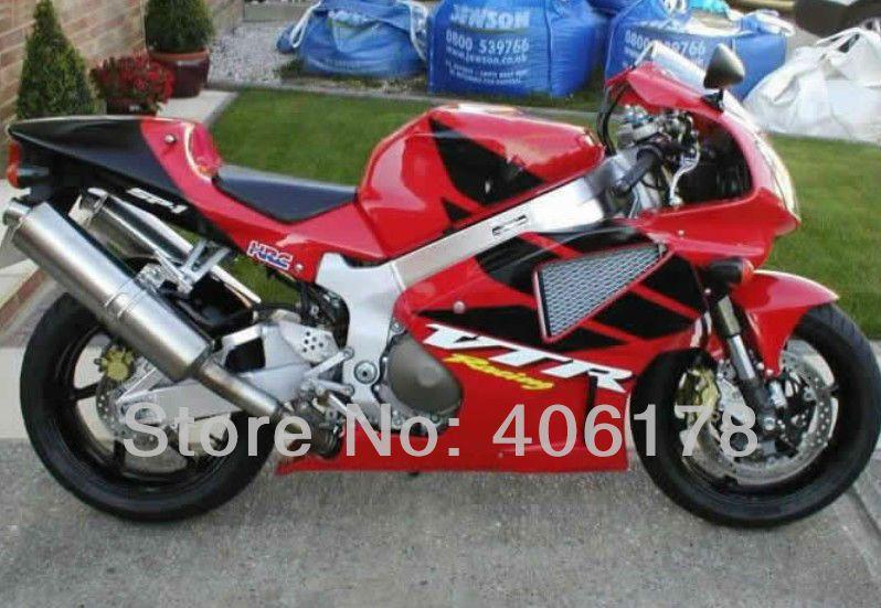 Hot Sales,RC51 SP1 SP2 Fairings for Honda vtr1000 Rc51 00-06 Rrvt1000RR 2000-2006 vtr 1000 Red & Black custom motorcycle fairing