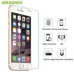 9 H en verre trempé Pour iphone 4S 5 5S 5c SE 6 6 s plus 7 plus protecteur d'écran de protection garde film front cover case + propre kits