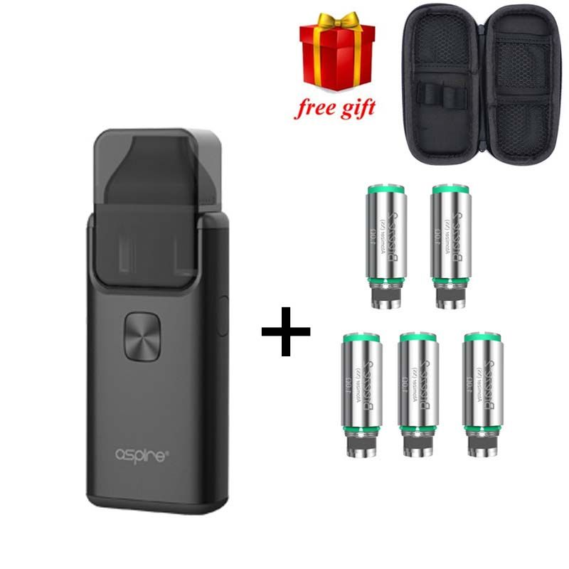 Free gift!! Original Aspire Breeze 2 AIO Kit Built-in 1000mAh Battery with 2ml/3ml Tank Atomizer Electronic Cigarette Vape Kit
