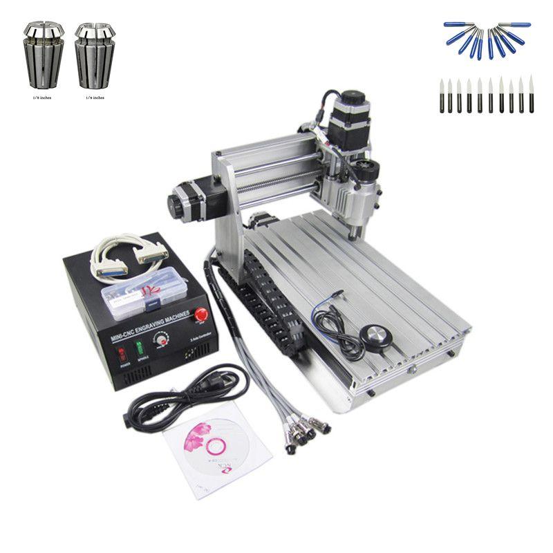 230 watt spindel cnc laser maschine 3020 t holz router mit freies cutter er11 collet