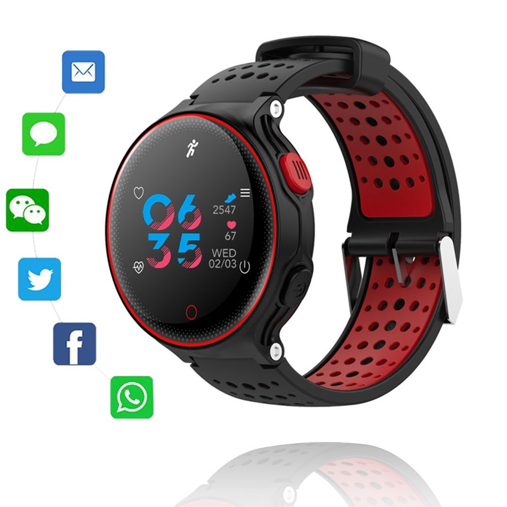 Smart Watch IP68 Waterproof Swimming Fitness Tracker Sport Smartwatch Blood Pressure Heart Rate Monitor Reminder Bracelet