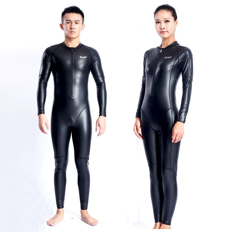 2017 New Kitesurf Neopreno High Quality Men Women Long Sleeve Swimwear Pu Velvet Body Swimsuit One-piece Warm Diving Wetsuit