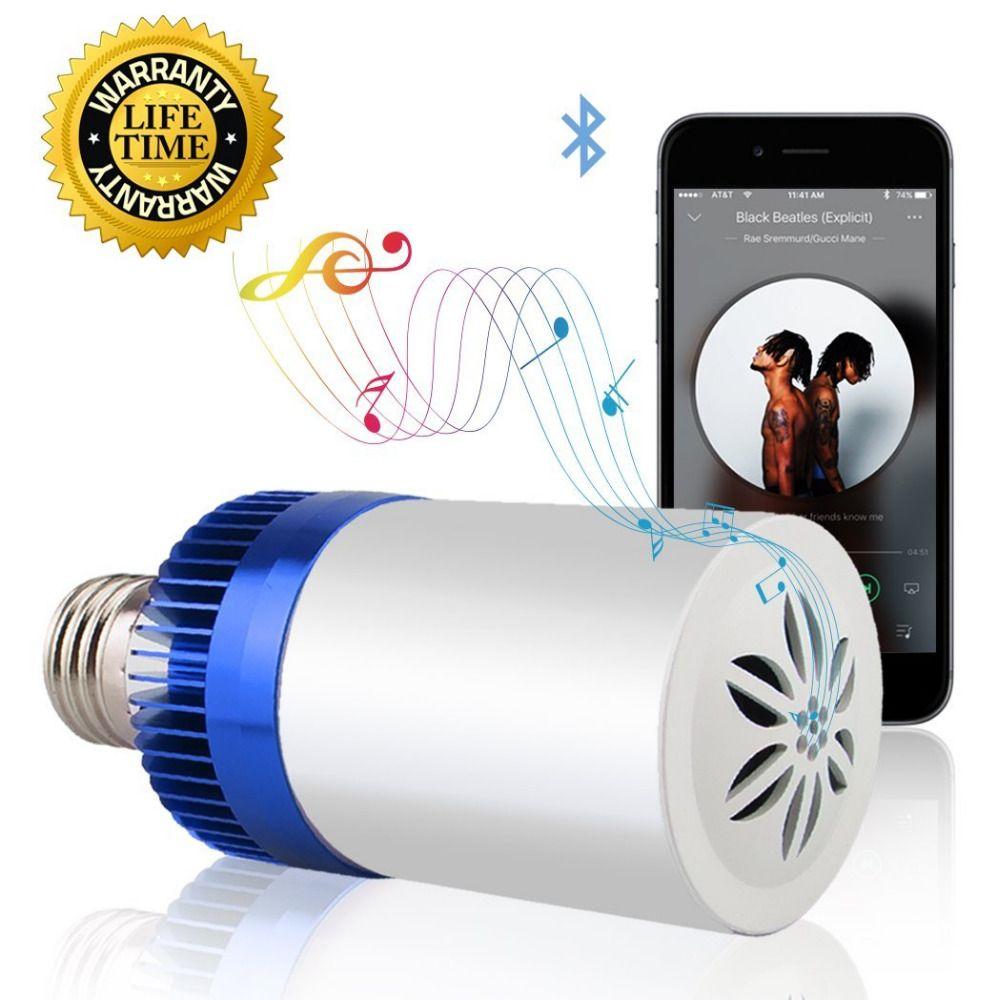 E27 220 v Led Lampe Acrylique 3 W 4.5 W Sans Fil Wifi À Distance contrôle Bluetooth Haut-Parleur Musique Smart Led Ampoule Lampe Appareils BB HAUT-PARLEUR