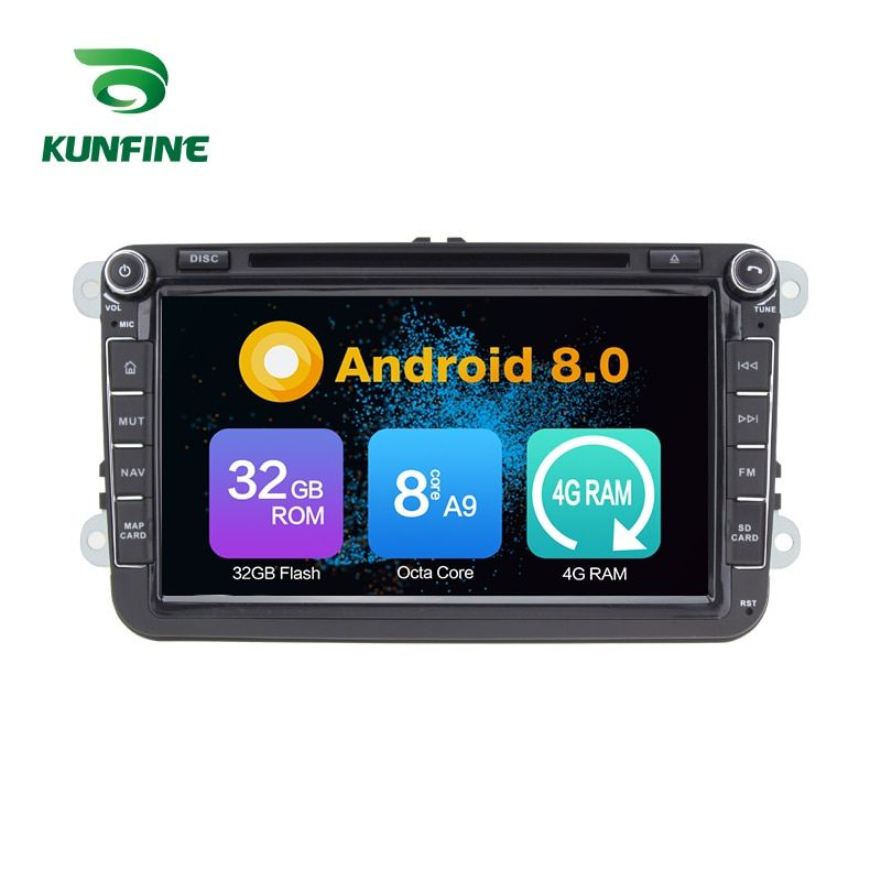 Octa Core 4 GB RAM Android 8.0 Auto DVD GPS Navigation Multimedia Player Auto Stereo für VW GOLF POLO PASSAT JETTA TIGUAN TOURAN