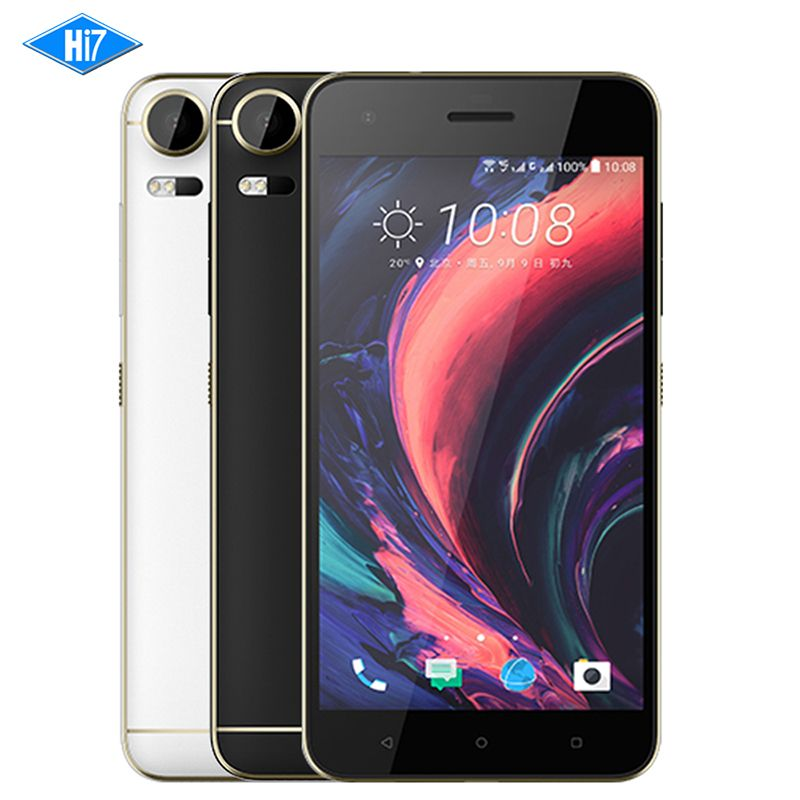 Nouveau Original HTC Desire 10 Pro 4 gb RAM 64 gb ROM 4g LTE D'empreintes Digitales Octa Core Android 6.0 double SIM 20MP 5.5
