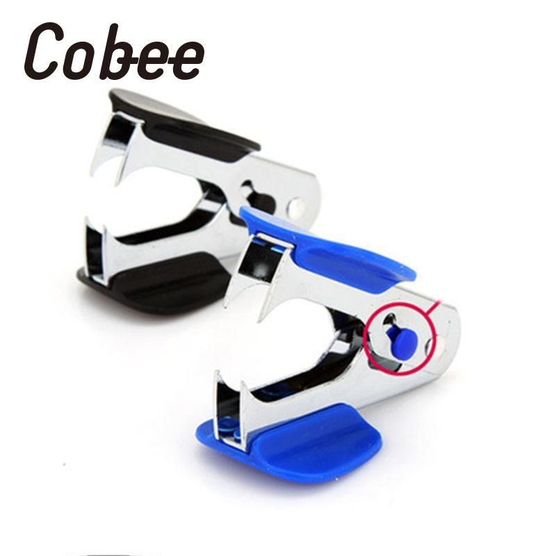 Cobee 2pcs Portable Mini Staple Remover Claw Office Home School Stationery Heavy Duty Durable Useful