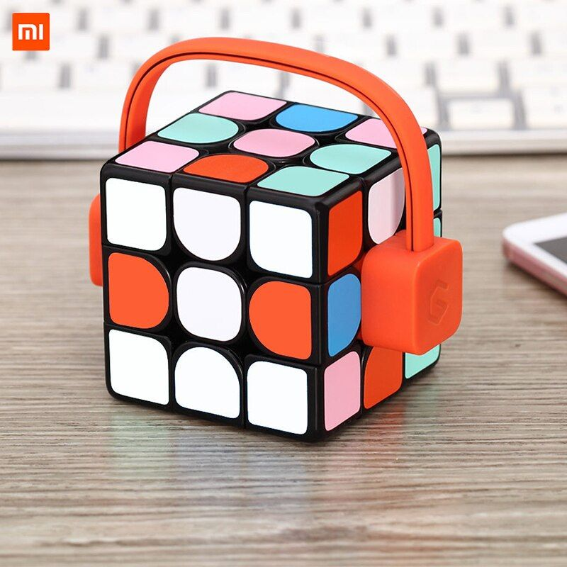 Xiaomi Mijia Giiker Super Rubik's Cube Learn With Fun Bluetooth Connection Sensing Identification Intellectual Development Toy