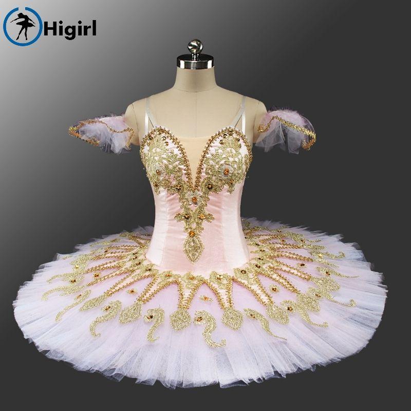 Rose Fée Casse-Noisette Femmes Performance Ballet Professionnel Tutus Adulte Poupée de Couchage Beauté Classique Tutu Costumes BT9134