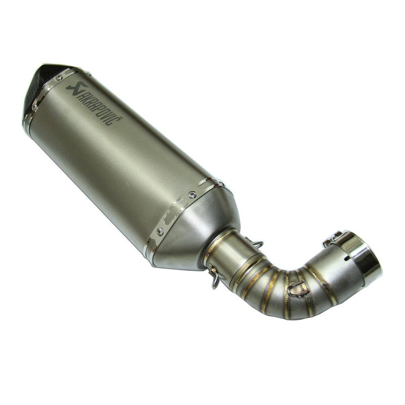 TOMEFON CB1000R Middle link pipe tube with Motorcycle exhaust pipe akrapovic yoshimura exhaust pipe print akrapovic or decal