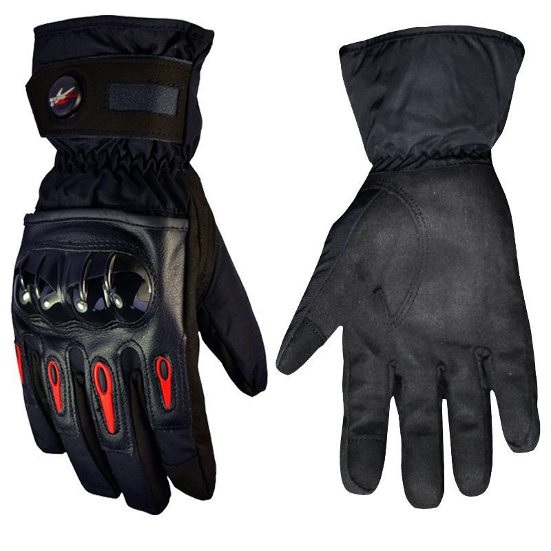 Motorcycle Gloves Waterproof full finger Winter Windproof Warm Protective gear Racing Motocross Moto Gloves luvas Guantes