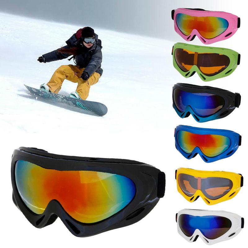 Children Boys Girl Ski Goggles Snowboard Sunglasses Anti-UV Winter Skate Goggles