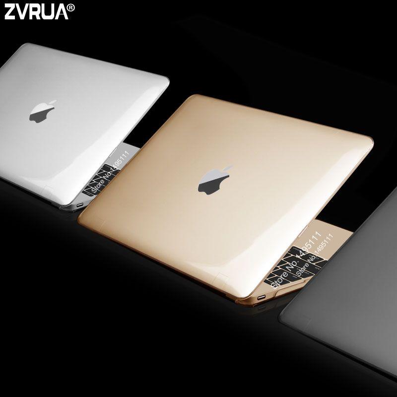 Zvrua ультра тонкий матовый/Crystal чехол для ноутбука Apple MacBook 12 дюймов модель a1534