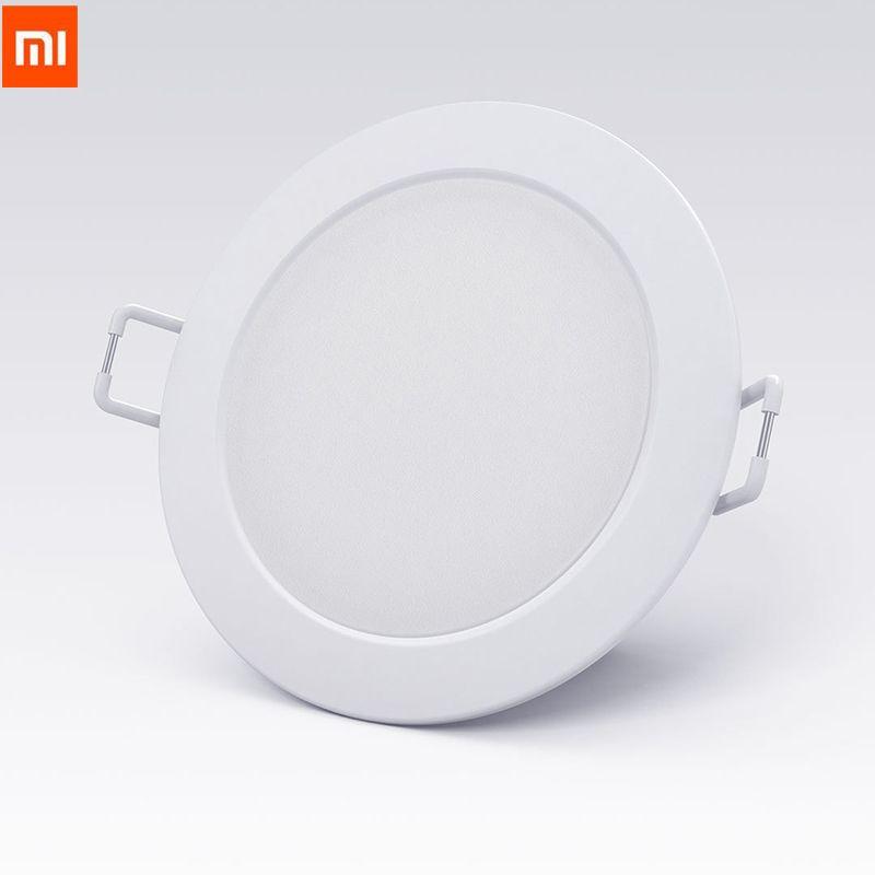 2018 D'origine Xiao mi mi jia Smart Downlight Wifi Travail avec mi maison App télécommande Blanc et lumière Chaude Smart changement de Lumière