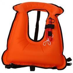 Kehidupan Dewasa Jaket Rompi Inflatable Renang Life Vest Berselancar Mengambang Baju Renang Pelampung Snorkeling Berperahu Jaket dengan Peluit