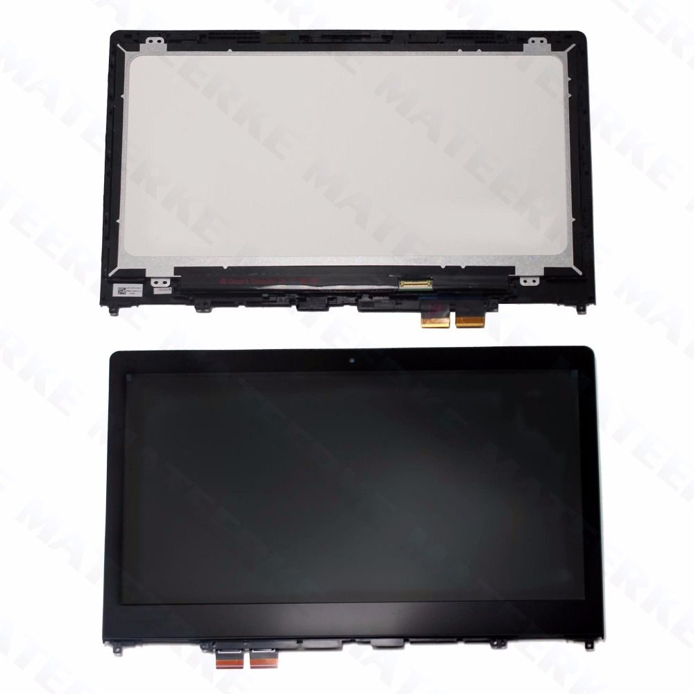For Lenovo Yoga 510 14 Yoga 510-14 Yoga 510-14ISK LCD Touch Screen Display Assembly with Frame 1920*1080
