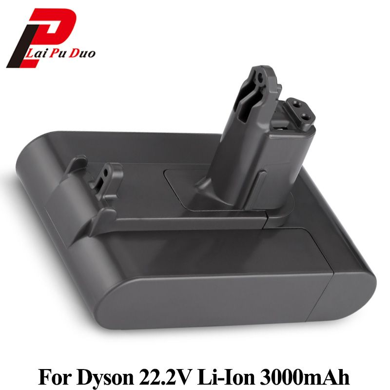 22.2V 3000mAh Li-ion Rechargeable Battery For Dyson Vacuum Cleaner DC31 DC34 DC35 DC44 MK2 DC45 Type B Series