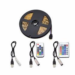 DC5V USB LED bande 5050 RGB Lumière Flexible 0.5 M 1 M 2 M 3 M 4 M 5 M TV Fond Éclairage RGB LED Bande Kit IP20/IP65 étanche