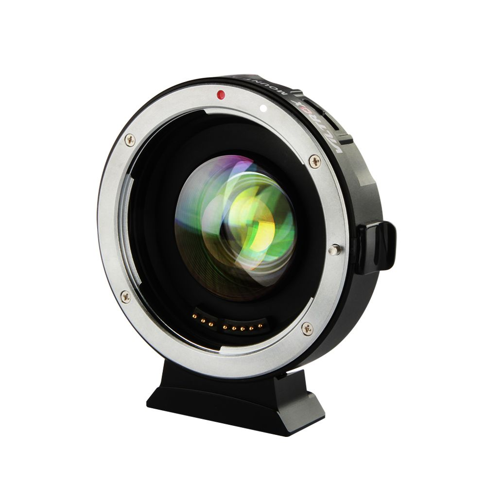 VILTROX EF-M2 0.71x Electronic Auto Focus Reducer Speed Booster Turbo Lens Adapter for Canon to M4/3 camera GH4 GH5 GF6 GX7 OM-D